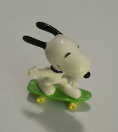 Check out this item in my Etsy shop https://www.etsy.com/ca/listing/538623650/vintage-snoopy-skateboard-mini-figurine
