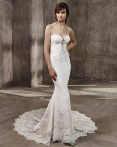Ivory Autumn Bridal Gown