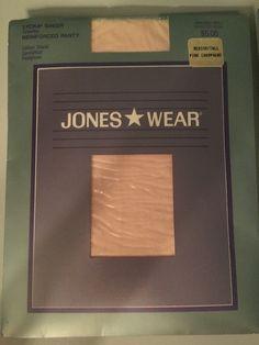 Vintage Jones Wear Med/Tall Pink Champagne Lycra Sheer Sandalfoot Pantyhose  | eBay