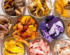 Natural dyes: self manufacture its dyeing plant