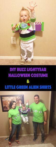 Buzz lightyear DIY family costume