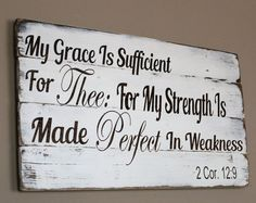 You simply must have this piece of art for your home. It is a perfect sign to remind us to give all of our trials to God. God will take care of the rest. Perfect Mothers Day gift!  Rustic home décor measures approx. 24 inches long and 15 inches wide. Made of pallet wood, hand painted with brown stained letters. Distressed white background. Comes with a saw tooth hanger for quick and easy display in you home. Thank you for your interest! To see our entire Christian and faith line, click here…