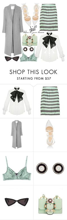 """Untitled #206"" by giotibi ❤ liked on Polyvore featuring Elisabetta Franchi, Marni, ADAM, Christian Louboutin, Elle Macpherson Intimates, Selim Mouzannar, Miu Miu, polyvoreeditorial and statementbags"