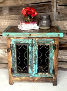 42 Superb Handmade Home Décor Ideas For Home Look Great Western Furniture, Rustic Furniture, Furniture Decor, Painted Furniture, Modern Furniture, Antique Furniture, Furniture Stores, Cheap Furniture, Furniture Dolly