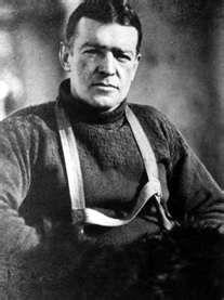 Shackleton - portrait by Endurance photographer Frank Hurley