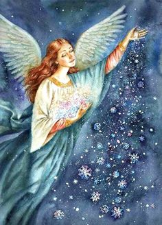 Stardust. I had this on my Fantasy Board. Just perfect for your Angel Board. Blessings.