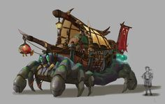 ArtStation - Viking Vehicle, yeonji Rhee