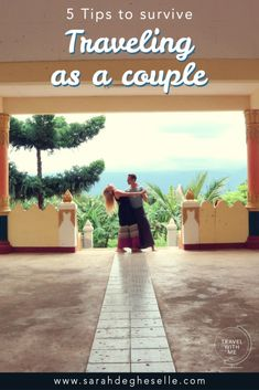 Traveling as a couple isn't always easy. Find out 5 incredible tips based on our own experiences, to survive as a couple while traveling #coupletravel #couple #travel #travelcouple #travelingasacouple #traveltips #traveladvice #relationships #relationshipadvice