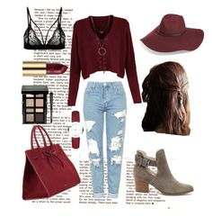 """""""Cosy day out"""" by mickialaandrea on Polyvore featuring Topshop, Sole Society, Botkier, Halogen, Burberry, Mansur Gavriel, Bobbi Brown Cosmetics and Urban Decay"""