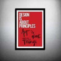 Art Design hand print - $112