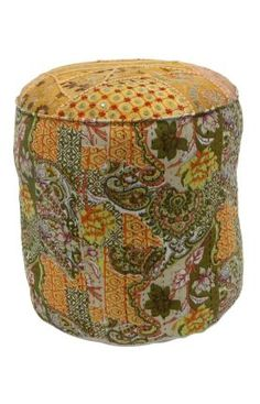 Nuloom Casual Living Floral Patchwork Round Pouf for sale online Indoor Outdoor Rugs, Outdoor Decor, Daisy, Pouf Ottoman, Discount Rugs, Rugs Usa, Modern Room, Floor Rugs, Decoration