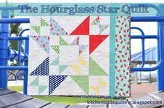 Hourglass Star Quilt - Moda Bake Shop