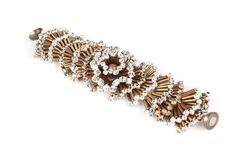 Tataborello crystal swarovski bracelet Fashion Accessories, Hair Accessories, Swarovski Bracelet, Bugle Beads, Beaded Jewelry, Jewellery, Costume Jewelry, Jewels, Crystals