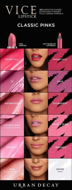Vice Lipstick: Blue-Based Reds