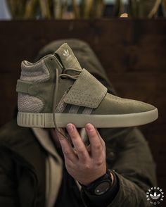 quality design 988f9 ce13c Adidas Tubular Invader Strap Cargo Green  sneakers  sneakernews   StreetStyle  Kicks  adidas