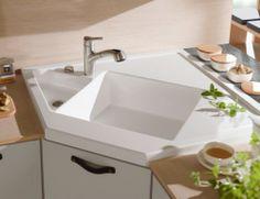 new monumentum corner kitchen sink from villeroy - Corner Sinks For Kitchens