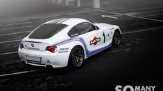 BMW Z4 M Coupe (E86) Martini Racing - my type of car