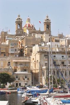 Vittoriosa on the other side of the harbor from Valletta waterfront where the cruise ships dock