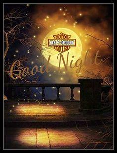 ♡GOOD NIGHT HARLEY DAVIDSON