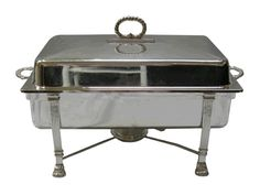 Chafer, Silver 8qt #WilliamsPartyRentals #WilliamsSJ #wedding #chafer #sanjose #bayarea #rentals #party