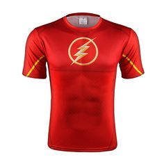 The Flash DC Comic Superhero Thunderbolt Logo Modern Gym T-shirt   #TheFlash #DC #Comic #Superhero #Thunderbolt #Logo #ModernGym #T-shirt