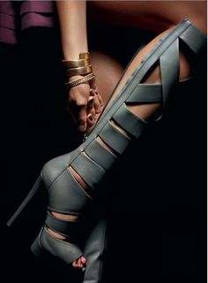 Gucci boots - 100 Gorgeous Shoes From Pinterest For S/S 2014 - Style Estate -