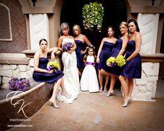Purple/Yellow Wedding