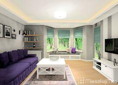 Szare ściany w domu Flat Screen, Drawing Rooms, Flat Screen Display, Flatscreen, Dish Display