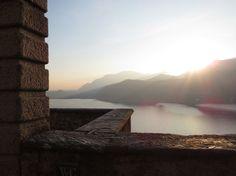 Sunset, Morcote Swiss Style, Berg, Sunset, Landscape, Nature, Travel, Woodland Forest, Water, Scenery