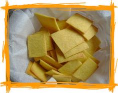 Crackers con farina di mais