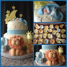 Safari baby shower Cute #babyshowertheme #babyshowerideas