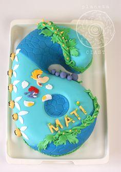 Rayman Legends Cake 5th Birthday Cake, 5th Birthday Party Ideas, Boy Birthday, Rayman Legends, 15 Year Old Boy, Party Entertainment, Cake Designs, Party Games, Birthdays