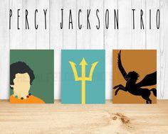 PERCY JACKSON Minimalist Trio