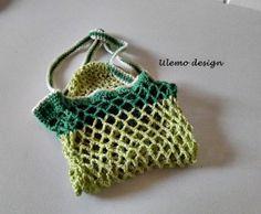Ulemo´s Einkaufsnetz in Cotton von ULeMo`s  Mützen, Hüte, Taschen und mehr auf DaWanda.com