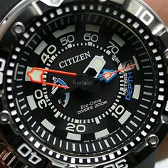 Diving Cool! The CITIZEN Promaster Aqualand Depth Meter 2014