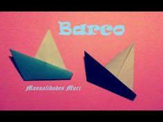 Origami - Papirofelxia. Barco de vela en 3 pasos, muy fácil