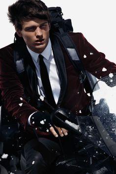 Simon Nessman Models H Winter 2012 Looks