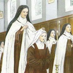 """""""O Carmelo é uma vocação, uma Ordem orante a serviço da Igreja e do mundo. Temos como modelo de oração a Virgem Maria, Senhora do Carmo [...]. 'Vivemos escondidas com Cristo em Deus' (Col 3,3)."""" (Entrevista com a Madre Maria de Jesus, priora do Carmelo de Nossa Senhora do Sorriso e Santa Teresinha, RN. Fonte: http://issuu.com/arqnatal/docs/a_ordem_13_07_2014, p. 9)"""