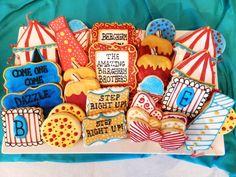 Amazing carnival cookies! #carnival #cookies