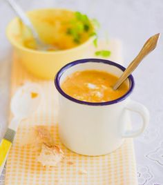 Molly Mell: Carrot and Coconut Milk Soup