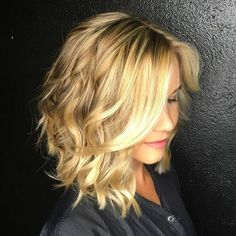 Cute Medium Wavy Haircuts