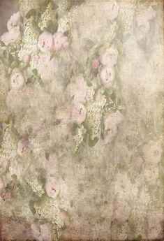 Retro Pink Floral Texture Photo Booth Backdrop GA-59 – Dbackdrop