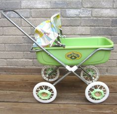 Original 1983 Cabbage Patch Doll Stroller Buggy