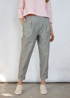 How To Wear Pants Trousers 33 Ideas Style Casual, Casual Work Outfits, Work Casual, Cute Outfits, Trendy Style, Fashion Pants, Fashion Outfits, Diy Clothes, Clothes For Women