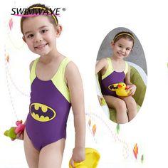 36509499106 Aliexpress.com : Buy Lovely One Piece Girls Children Swimsuit Summer Kids  Beach Cartoon Print Wide Strap Vest Top Triangle Jumpsuit Swimwear Swimsuit  from ...