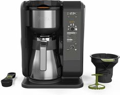 Ninja Hot and Cold Brewed System, Auto-iQ Tea and Coffee Maker with 6 Brew Sizes, 5 Brew Styles, Frother, Coffee & Tea Baskets with Thermal Carafe Percolator Coffee Maker, Coffee Brewer, Coffee Shop, Coffee Girl, Cappuccino Maker, Cappuccino Machine, Espresso Maker, Best Drip Coffee Maker, Arquitetura