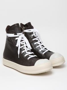 Rick Owens Leather Sneaker