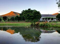 Alleen op de wereld in de Karoo (gemaakt in Oost-Kaap)