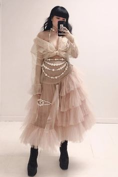 creepyyeha on IG Pretty Outfits, Pretty Dresses, Beautiful Dresses, Cool Outfits, Fashion Outfits, Couture Fashion, Runway Fashion, High Fashion, Mode Blog
