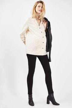 95a9418c6e2e3 MATERNITY Star Pyjama Shirt - Topshop USA Maternity Shops, Maternity Wear,  Pajama Shirt,